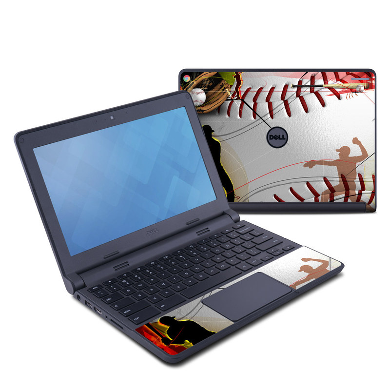 Home Run Dell Chromebook 11 Skin