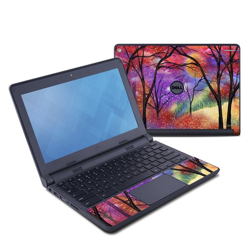 Moon Meadow Dell Chromebook 11 Skin