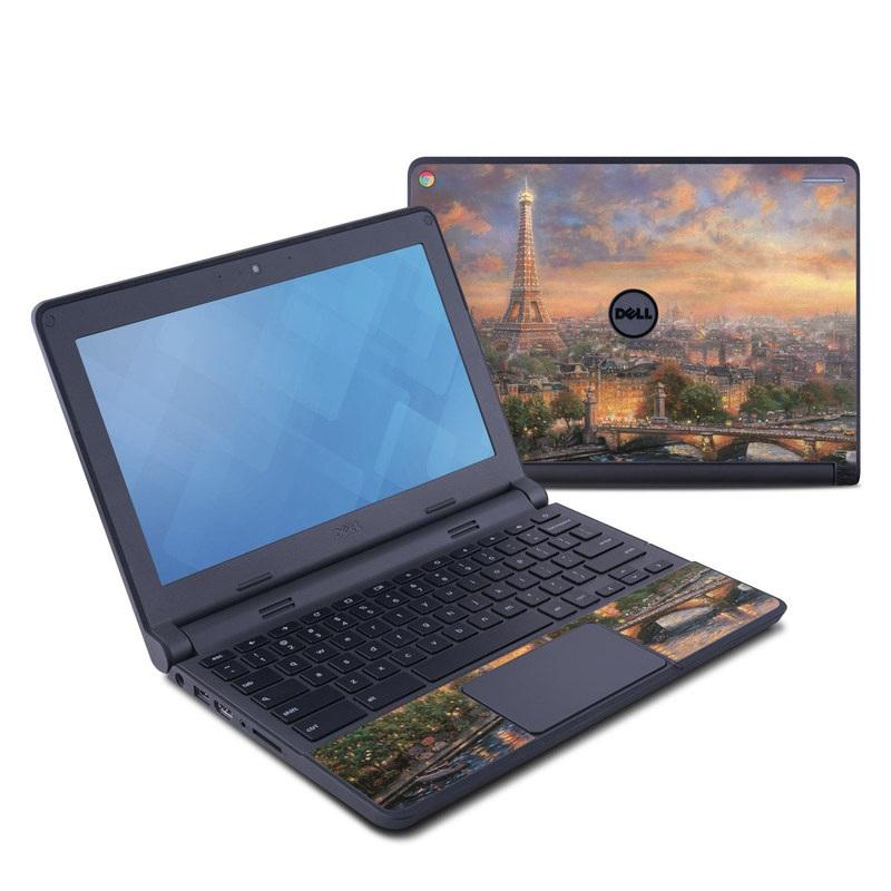 Paris City of Love Dell Chromebook 11 Skin