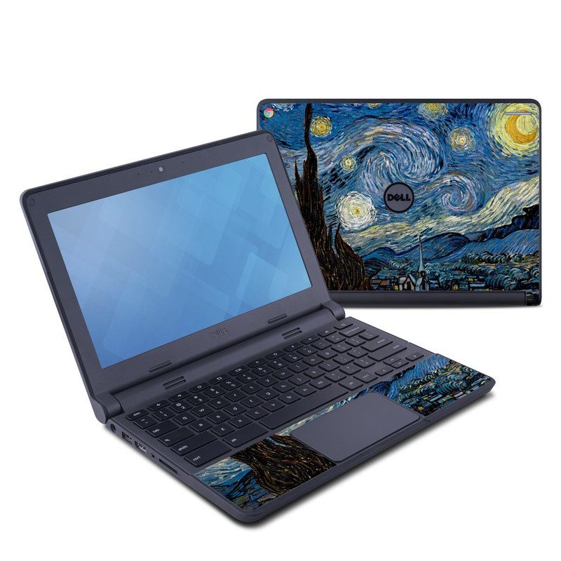 Starry Night Dell Chromebook 11 Skin