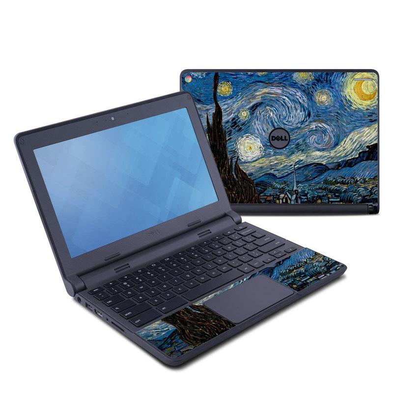 Starry Night Dell Chromebook 11 Skin