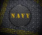Navy Diamond Plate