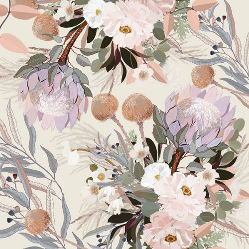 Design of Flower, Floral design, Watercolor paint, Plant, Spring, Branch, Flower Arranging, Lilac, Floristry, Petal with pink, purple, green, brown, white, yellow, black colors