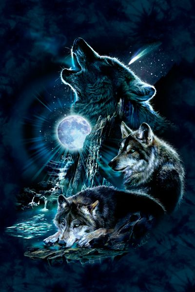 Lifeproof Galaxy S9 Plus Next Case Skin design of Cg artwork, Fictional character, Darkness, Werewolf, Illustration, Wolf, Mythical creature, Graphic design, Dragon, Mythology with black, blue, gray, white colors