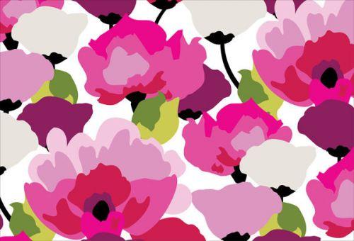 Design of Pink, Flower, Pattern, Petal, Plant, Floral design, Design, Botany, Magenta, Anemone with white, pink, green, red colors