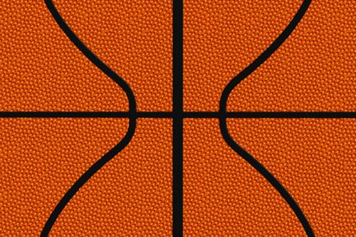 Creative ZEN Style 300 Skin design of Orange, Basketball, Line, Pattern, Sport venue, Brown, Yellow, Design, Net, Team sport with orange, black colors