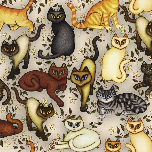Kobo Aura HD Skin design of Cartoon, Illustration, Design, Pattern, Art, Cat, Fawn, Tail, Animal figure with black, brown, yellow, orange, green colors