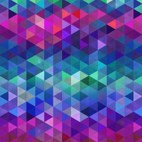 Design of Purple, Violet, Pattern, Blue, Magenta, Triangle, Line, Design, Graphic design, Symmetry with blue, purple, green, red, pink colors