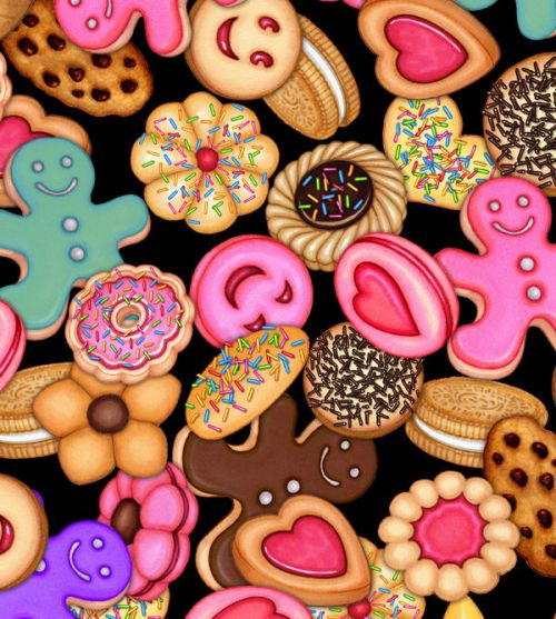 Design of Sweetness, Food, Cookies and crackers, Cookie, Snack, Pink, Baked goods, Finger food, Heart, Dessert with brown, pink, blue, red colors