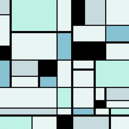 Design of Blue, Line, Turquoise, Pattern, Rectangle, Design, Parallel, Square, Symmetry, Tints and shades with black, blue, green colors