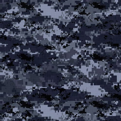 Design of Military camouflage, Black, Pattern, Blue, Camouflage, Design, Uniform, Textile, Black-and-white, Space with black, gray, blue colors
