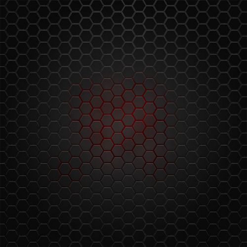 Design of Black, Pattern, Metal, Design, Mesh, Carbon, Space, Wallpaper with black, red colors