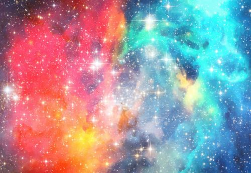 LG Ally Skin design of Nebula, Sky, Astronomical object, Outer space, Atmosphere, Universe, Space, Galaxy, Celestial event, Star with white, black, red, orange, yellow, blue colors