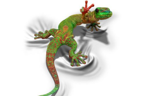 Design of Lizard, Reptile, Gecko, Scaled reptile, Green, Iguania, Animal figure, Wall lizard, Fictional character, Iguanidae with white, gray, black, red, green colors