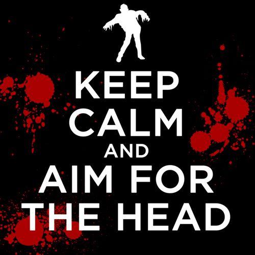 Keep Calm - Zombie
