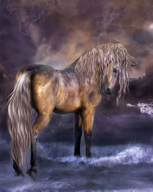 Sprint U300 Skin design of Horse, Mane, Stallion, Mustang horse, Fictional character, Mare, Painting, Wildlife, Mythical creature with black, gray, red, blue, green colors