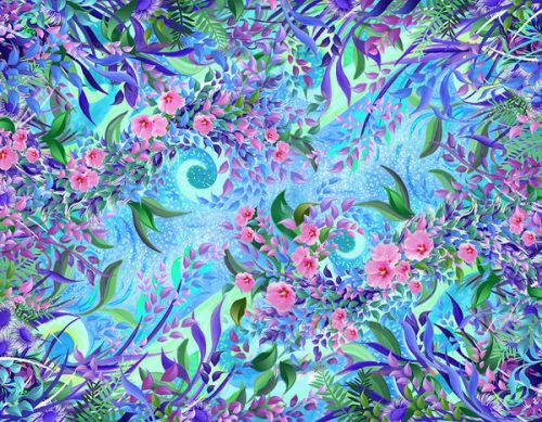 LG Revolution VS910 Skin design of Psychedelic art, Pattern, Lilac, Purple, Art, Pink, Design, Fractal art, Visual arts, Organism with gray, blue, purple colors