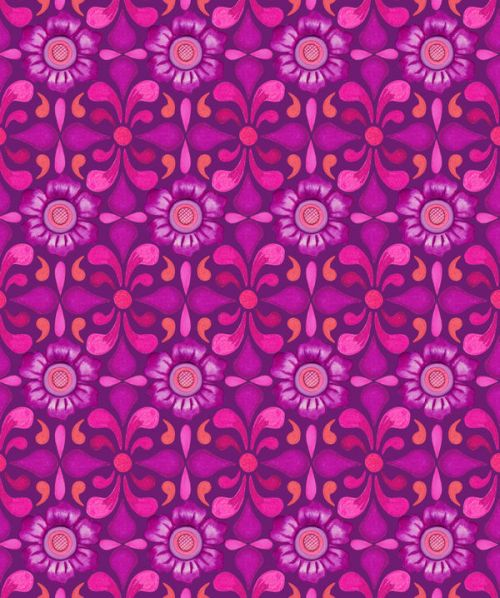 Samsung Galaxy I7500 Skin design of Pattern, Pink, Magenta, Purple, Violet, Design, Textile, Wrapping paper, Visual arts with purple, red, blue, pink, black, gray colors
