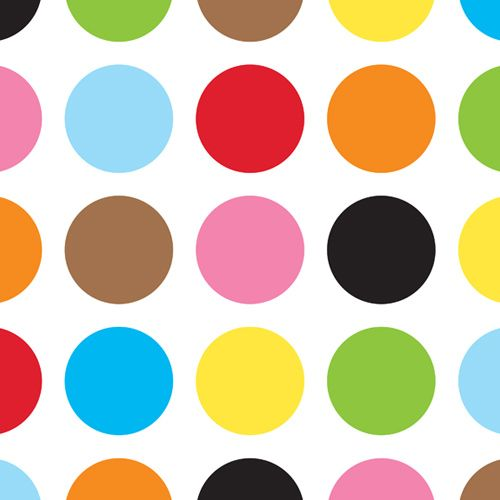 Design of Pattern, Polka dot, Circle, Yellow, Colorfulness, Design, Clip art, Graphics with white, orange, green, pink, purple, black colors