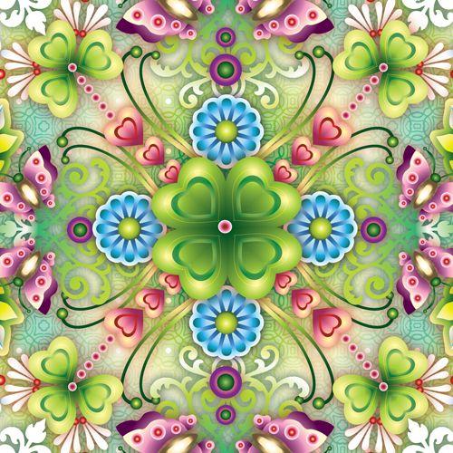 Mandala Clover