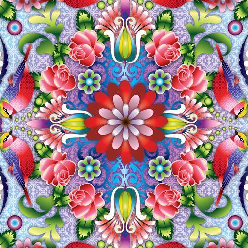 Mandala Roses