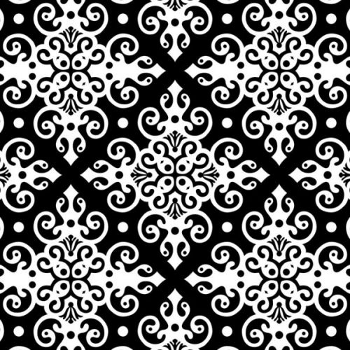 Design of Pattern, Line, Black-and-white, Design, Visual arts, Ornament, Monochrome, Textile, Circle with black, white colors