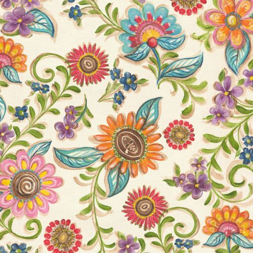 Old PS2 Skin design of Pattern, Floral design, Flower, Botany, Design, Visual arts, Textile, Plant, Wildflower, Pedicel with gray, green, pink, yellow, red, blue colors