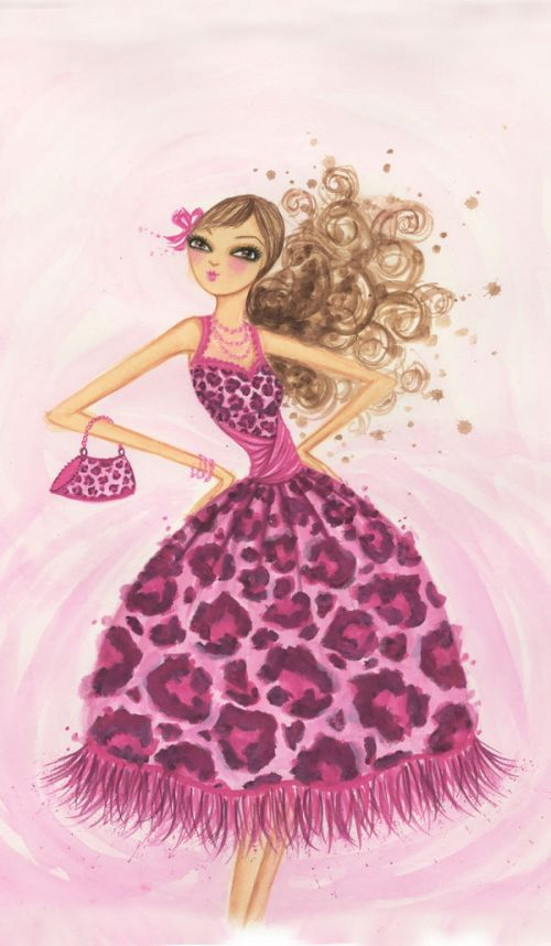 Design of Pink, Doll, Dress, Fashion illustration, Barbie, Fashion design, Illustration, Gown, Costume design, Toy with pink, gray, red, purple, green colors