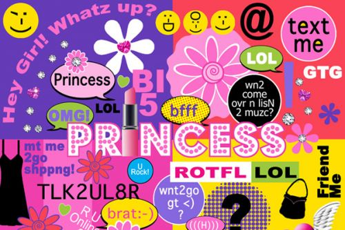 Princess Text Me