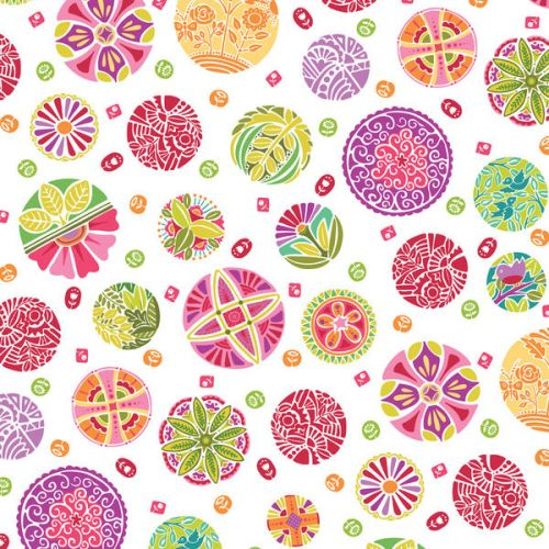 Design of Pattern, Wrapping paper, Design, Circle, Visual arts, Motif with white, gray, pink, purple, green, red colors