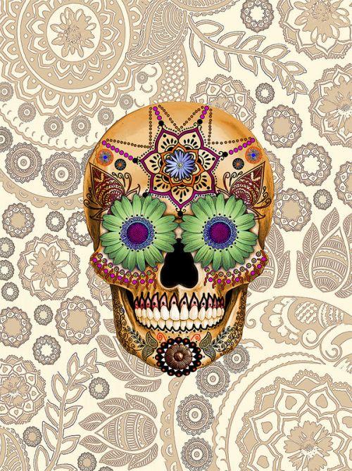 Sugar Skull Bone