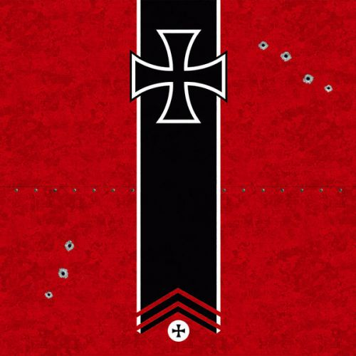 Design of Bullet, Holes, War, Red, Text, Carmine, Colorfulness, Maroon, Symbol, Coquelicot with red, black, white, gray colors