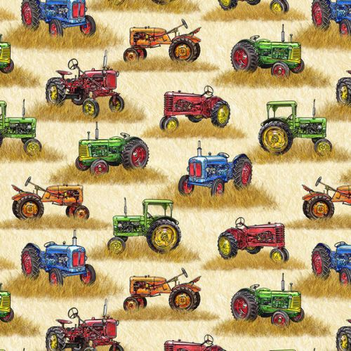 Design of Motor vehicle, Vehicle, Tractor, Mode of transport, Transport, Toy vehicle, Agricultural machinery, Toy, Car, Model car with red, blue, brown, yellow, green, orange colors