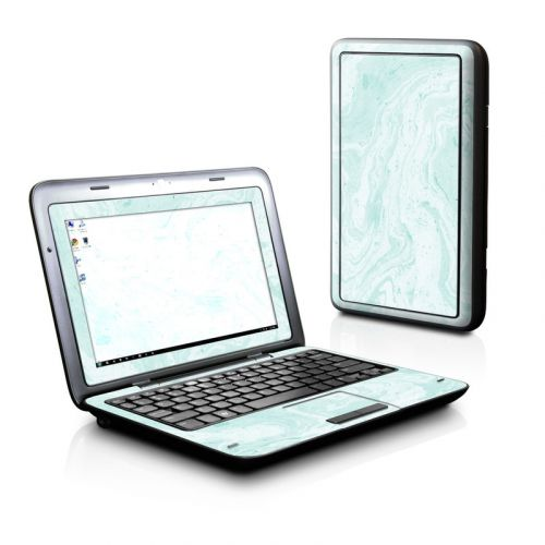 Winter Green Marble Dell Inspiron duo Skin