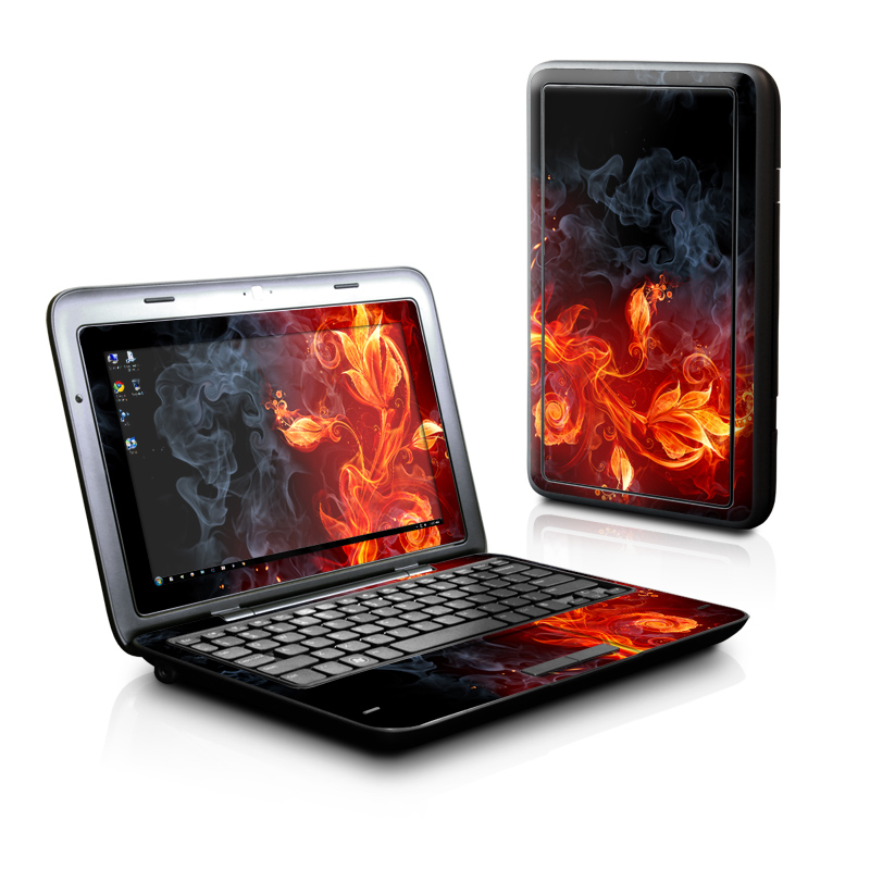 Flower Of Fire Dell Inspiron duo Skin