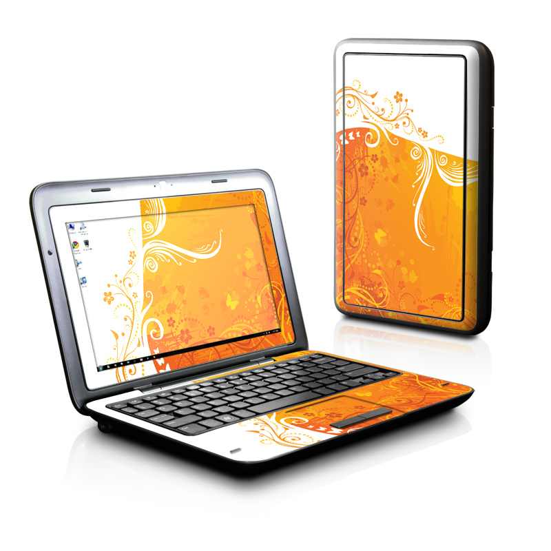 Orange Crush Dell Inspiron duo Skin