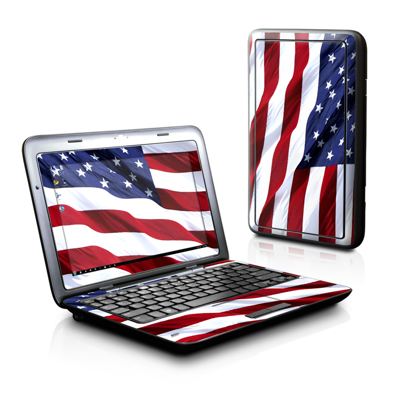 Patriotic Dell Inspiron duo Skin
