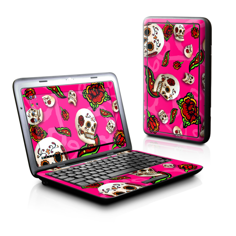 Pink Scatter Dell Inspiron duo Skin