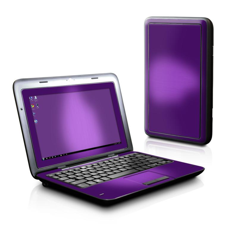Purple Burst Dell Inspiron duo Skin