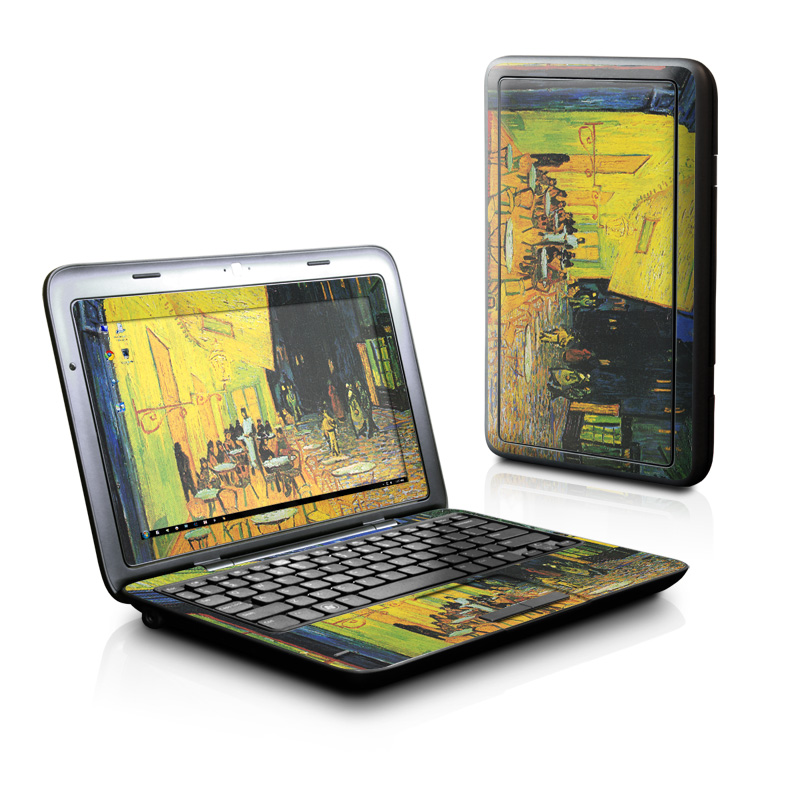 Cafe Terrace At Night Dell Inspiron duo Skin