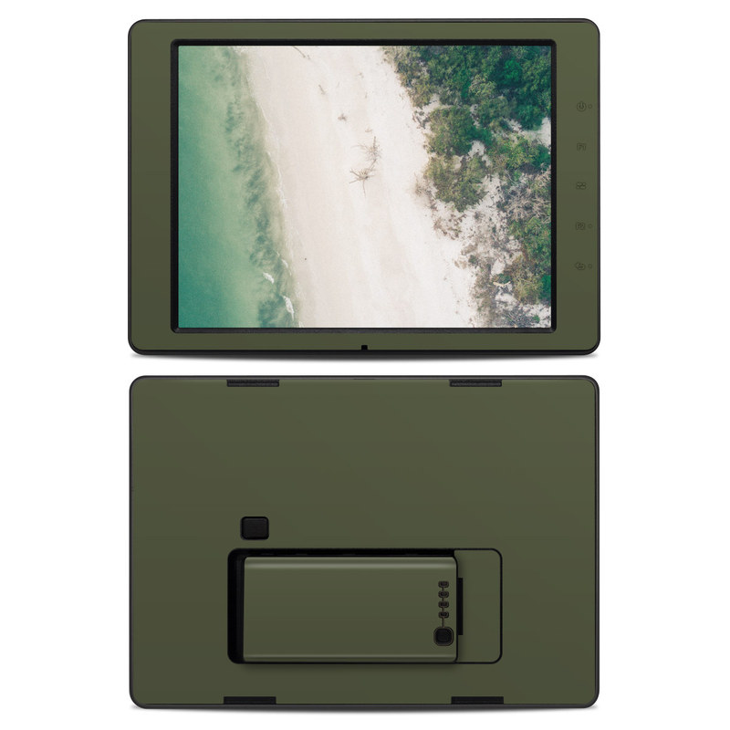 Solid State Olive Drab DJI CrystalSky 7.85-inch Skin