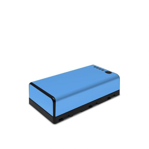 Solid State Blue DJI CrystalSky Battery Skin