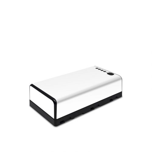 Solid State White DJI CrystalSky Battery Skin
