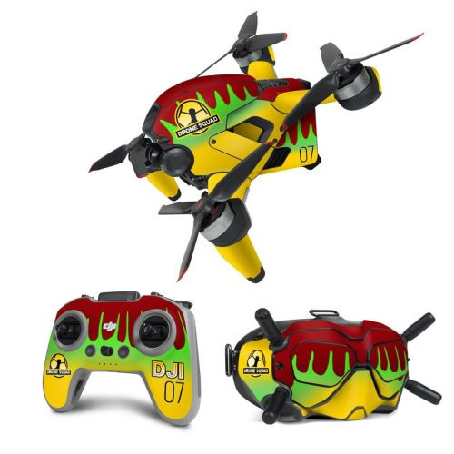Triassic Traveler DJI FPV Combo Skin