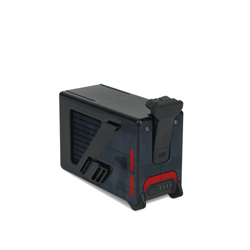 DJI FPV Intelligent Flight Battery Skin design with black, red, gray colors