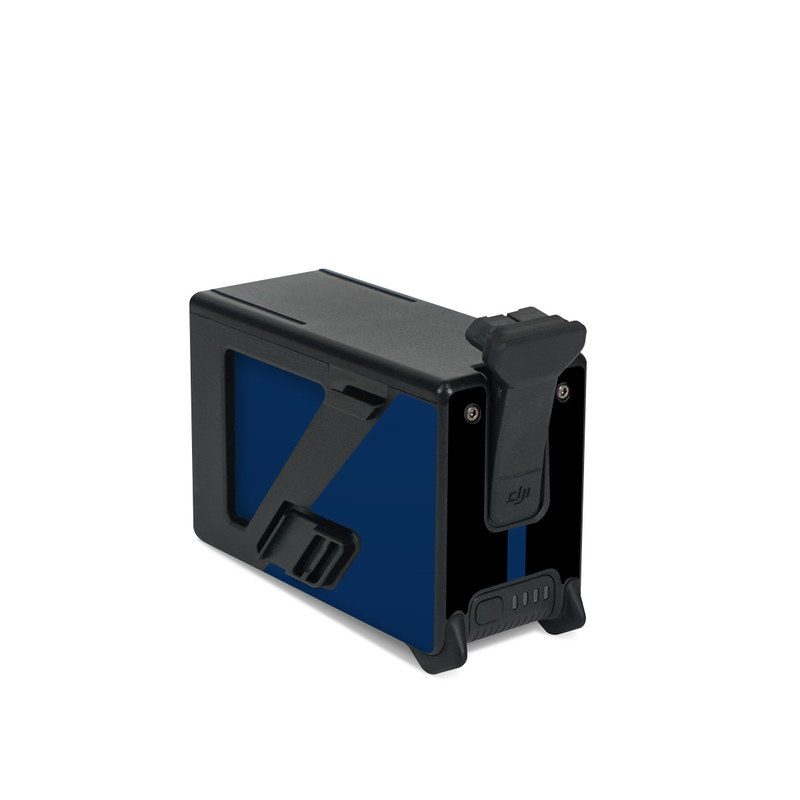 DJI FPV Intelligent Flight Battery Skin design with black, white, blue, red colors