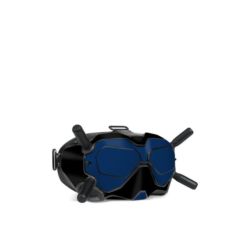 DJI FPV Goggles V2 Skin design with black, white, blue, red colors