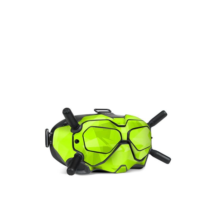 DJI FPV Goggles V2 Skin design with green colors