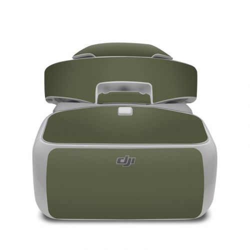 Solid State Olive Drab DJI Goggles Skin