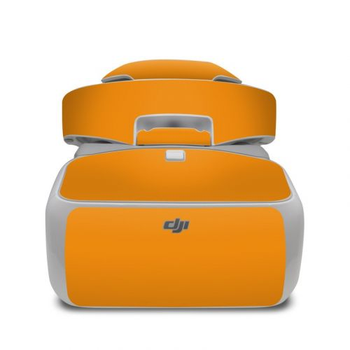 Solid State Orange DJI Goggles Skin